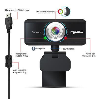 Full HD 1080P Web Cam Desktop PC Video Calling Webcam Camera with Microphone Mic 3