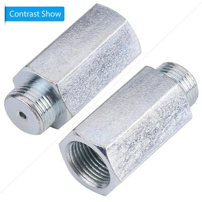 Oxygen Sensor O2 Lambda Extender Extension Spacer For M18 x1.5 Decat Hydrogen SS