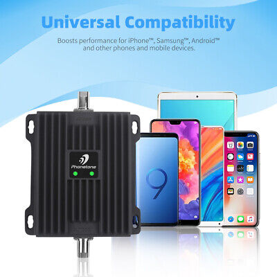 2G GSM 3G LTE 4G Dual Band 850MHz 1700/2100MHz Signal Booster Repeater for Data 2