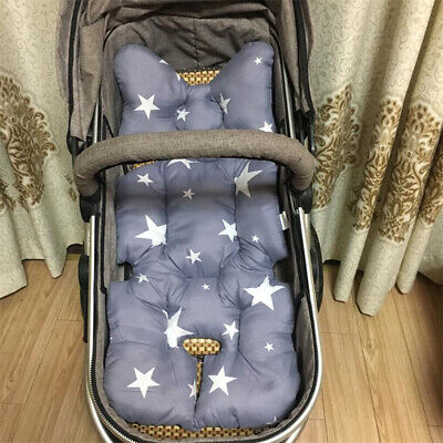 Soft Baby Kid Stroller Pram Pushchair Car Seat Liner Pad Mat Cushion Washable 5