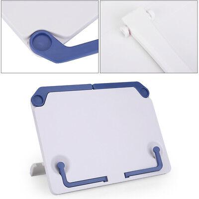 Folding Adjustable Desktop Sheet Music Stand Holder Table Top Cook Book Stand 6