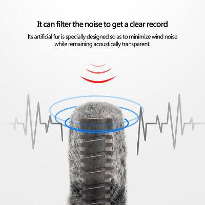 Professional Windproof Windshield Wind Muff for Rode Videomic Microphone LJ 3