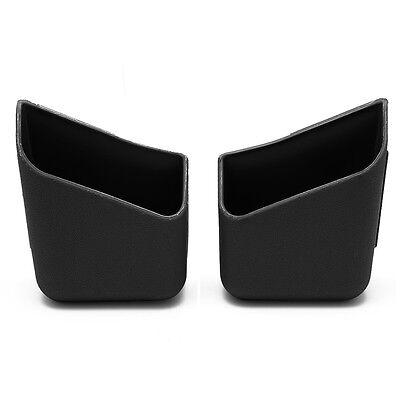 2X Universal Car Auto Accessories Glasses Organizer Storage Box Holder Black W58 4