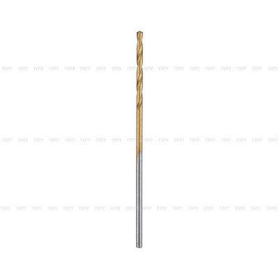 New 50x 1/1.5/2/2.5/3mm HSS High Speed Steel Drill Bit Set Tools Titanium Coated 6