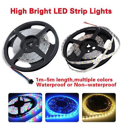 LED Streifen Stripe Licht Band Leiste Lichterkette RGB 5050/3528SMD DC 12V 1m/5m 2