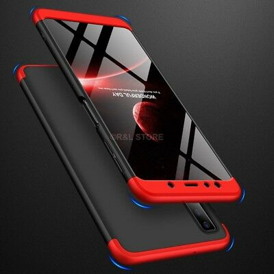 COVER per Samsung Galaxy A7 2018 CUSTODIA Fronte Retro 360° ORIGINALE ARMOR CASE 8