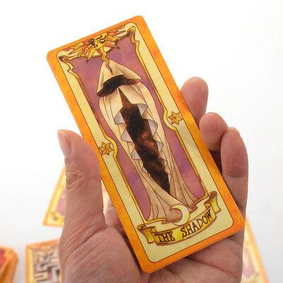 1pc Clow Card Red Tarot Cards Deck 56 Cards Set Anime Cardcaptor Sakura