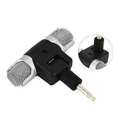 Mini stereo Microfono Registratore audio con jack da 3,5 mm per Smart Phone , 11
