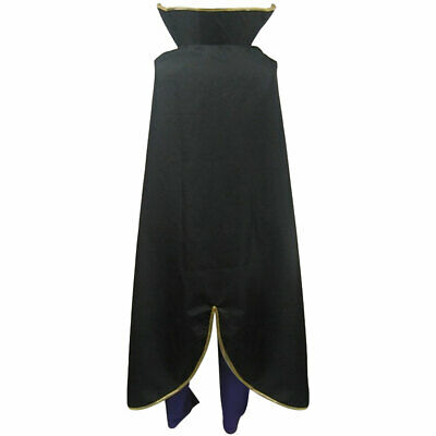 PUY46 Code Geass Lelouch of the Rebellion ZERO Cosplay Costume 2nd version Unif