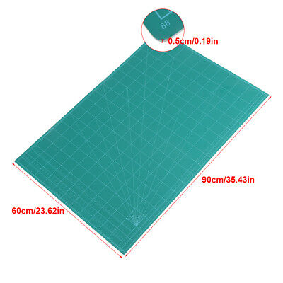 A1 A2 A3 5-Ply Self Healing Cutting Mat Craft DIY Grid Lines 2 Side Thick PVC 9
