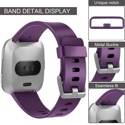 Replacement Silicone Wrist Sports Band Strap Wristband For Fitbit Versa /Lite 5