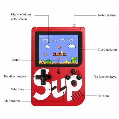 Console Videogioco Portatile 400 Giochi 8 Bit Sup Tv Colori Retro Game Boy 5