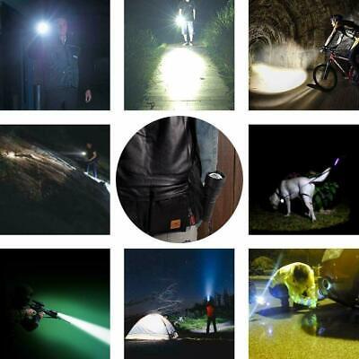 Super-bright 90000lm flashlight CREE LED P70 Tactical torch USB +5000mAh battery 12