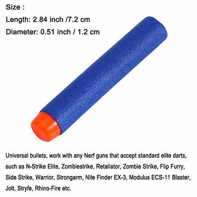 Round Head Bullets For NERF EVA N-Strike Elite Refill Toy Gun Darts Blaster 3