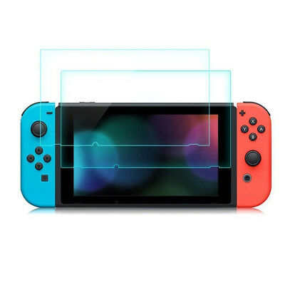 [3 Pack] For Nintendo Switch Premium 9H Tempered Glass Screen Protector Guard 8