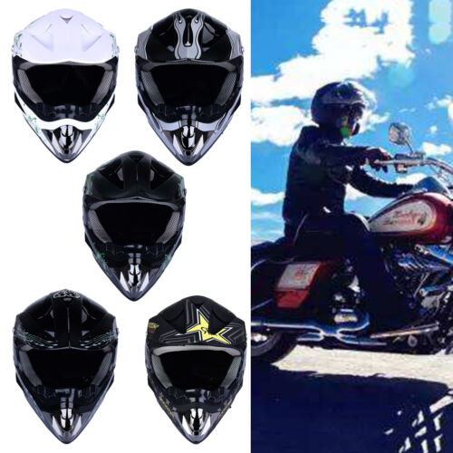 Off Road Casco Motorcycle /& Moto Dirt Bike Motocross Racing Helmet U9D7