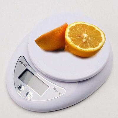 5kg 5000g/1g Digital Electronic Kitchen Food Diet Postal Scale Weight Balance Ar 11