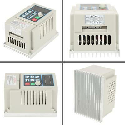 0.45kW VFD 2.5A AC 220V Single/3-Phase Speed Variable Frequency Drive Inverter 4