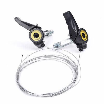 Universal 1 Paar Fahrrad Geschwindigkeit Schalthebel MTB Gangschaltung Griff 21