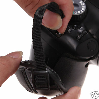 Comfy Leather Wrist Hand Grip Wrist Strap Universal For Dslr+Slr Canon Nikon Ect 4