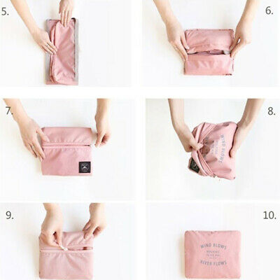 Foldable Large Duffel Bag Luggage Storage Bag Waterproof Travel Pouch Tote Bag U 11