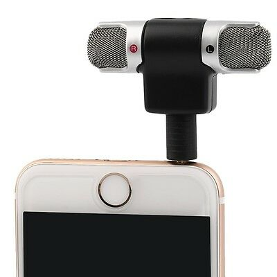 Portable Mini Microphone Digital Stereo for Recorder PC Mobile Phone Laptop R 3