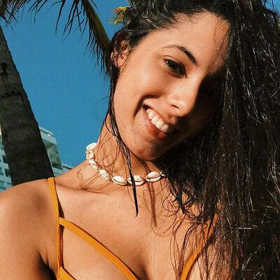 Boho Bohemian Sea Shell Beaded Pendant Chain Choker Necklace Women Beach Jewelry 9