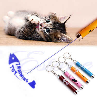 LED Funny Cat Dog Laser Pointer Light Pen With Bright Mouse Animation Pet Toys 3