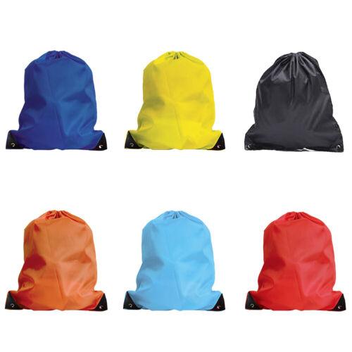 Drawstring Backpack Cinch Sack Large Tote Bag School Sport Lightweight Bags 3