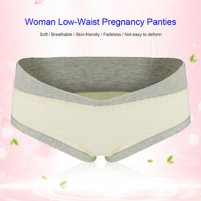 Maternity Panties Cotton Pregnant Women Low-waist Briefs Underwear M/L/XL/XXL 8