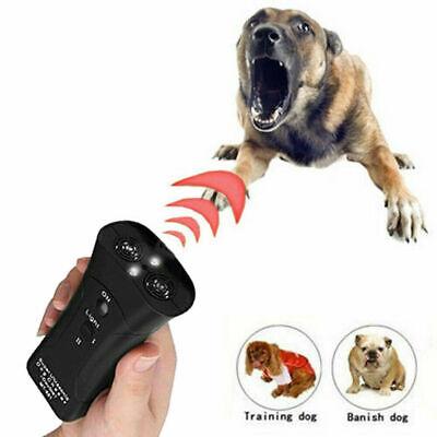 Ultrasonic Anti Dog Barking Trainer LED Light Gentle Chaser Petgentle Sonics 8