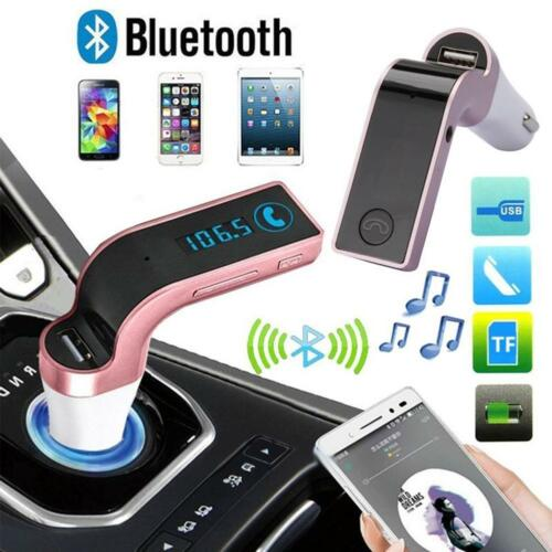 Wireless Bluetooth FM Transmitter Kit For Car MP3 Music Player Radio & USB Port 2
