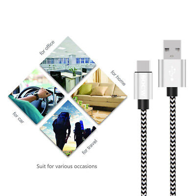 USB-C Type-C Fast Charging Data Sync Charger Cable For Samsung Galaxy S8 S9 Plus