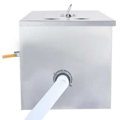 Stainless Steel Grease Trap Interceptor for Restaurant Kitchen Wastewater 4