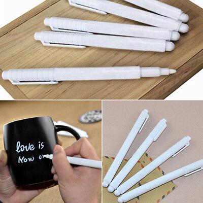 Effaçable Blanc Craie Liquide Marqueur Crayon pour Verre Tableau Noir Sweet 9