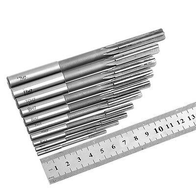 3-12mm New HSS Straight Shank Chucking Reamer Machine Reamer Milling Cutter Tool