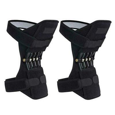 Patella Booster Spring Knee Brace Support Mountaineering Squat Sport Gym Running 8