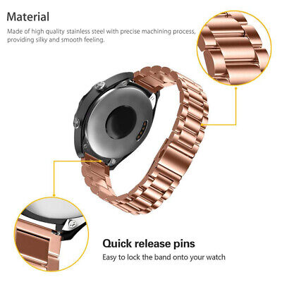 Stainless Steel  Strap Metal Watch Band For Samsung Galaxy Watch 42/46mm Gear S3 3