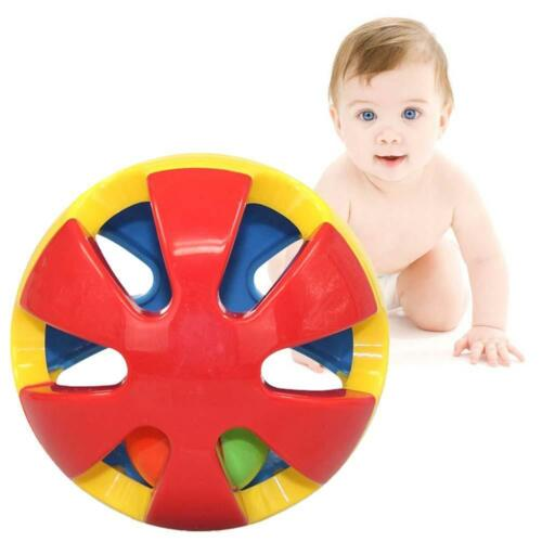 2016 Cute Handbells Musical Developmental Toy Bed Bells Kids Baby Toys Rattle TR