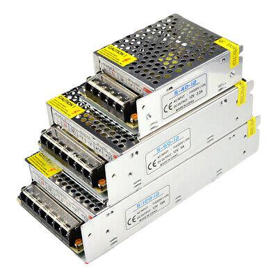 AC 220V 240V TO DC 5V 12V 24V Switch Power Supply Driver Adapter LED Strip Light 2