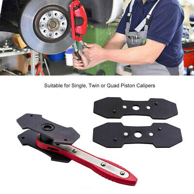 Portable Car Ratchet Brake Piston Spreader Wrench Caliper Pad Install Tool Press 5