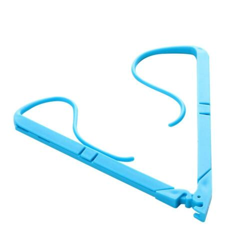 Portable Hands Free Book Holder Folding Stand Holds Pages Open Clip Fixed Clamp 3