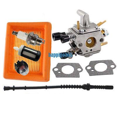 Vergaser Luftfilter Zündkerze Prime Set Für Stihl FS120 FS200 FS250 FS300 FS350