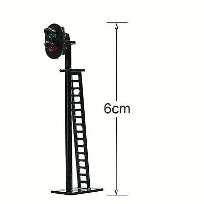 Semáforo Signal para Binario mm.60 12V a 2 Colores LED Verde y Rojo Escala N Ho