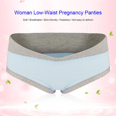 Maternity Panties Cotton Pregnant Women Low-waist Briefs Underwear M/L/XL/XXL 9