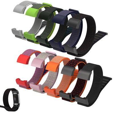 Fitbit Charge 2 3 Armband Edelstahl Ersatzband Nylon Milanese Sport Leder Watch 6