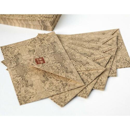 10pcs vintage retro kraft paper envelope for business card style 6 of 10 10pcs vintage retro kraft paper envelope for business card style high quality reheart Gallery