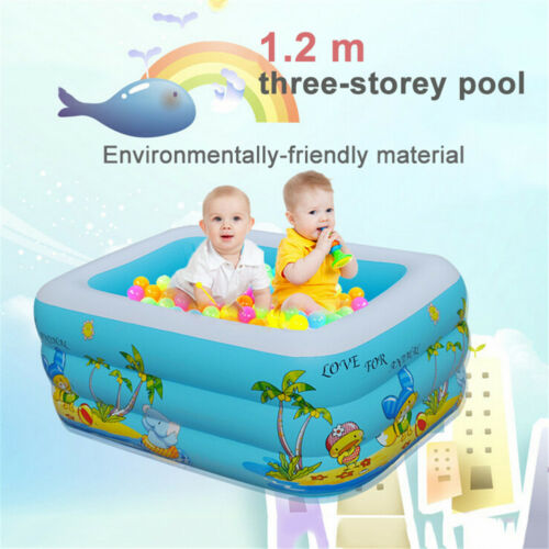 BABY/KID/TODDLER FUNNY PORTABLE Inflatable Bathtub Newborn Thick ...