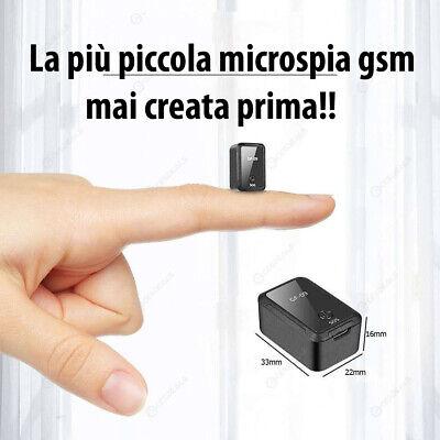 Microspia Ambientale Gsm Micro Audio Vocale Cimice Spia Registratore Spia Card 2