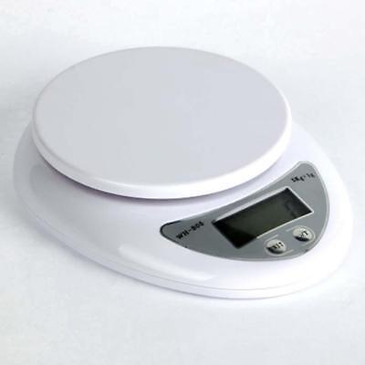 5kg 5000g/1g Digital Electronic Kitchen Food Diet Postal Scale Weight Balance Ar 12